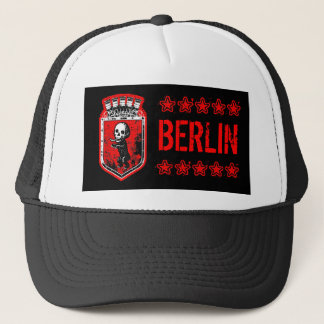 BERLIN ZOMBIE BEAR TRUCKER HAT