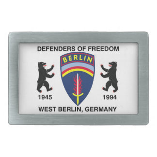 BerlinBrigadedotcom Rectangular Belt Buckle