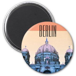 Berliner Dom (Berlin, Germany) 6 Cm Round Magnet