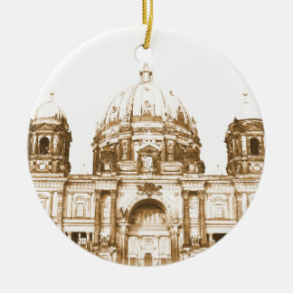 Berliner Dom in Berlin, Germany Christmas Ornament
