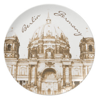 Berliner Dom in Berlin, Germany Plate