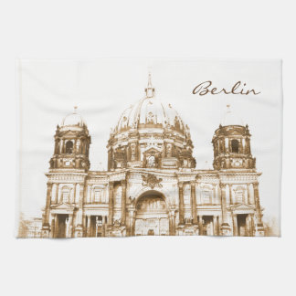 Berliner Dom in Berlin, Germany Tea Towel