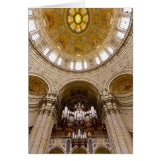 Berliner Dom organ, Berlin Card