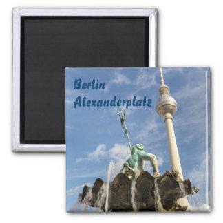Berliner Fernsehturm Square Magnet