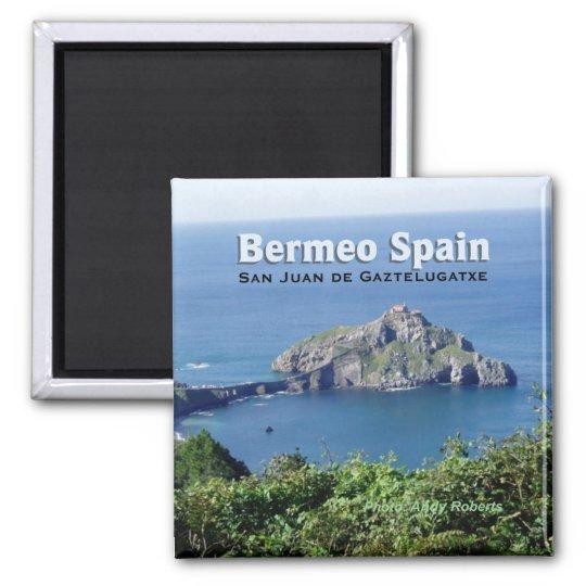Bermeo Spain Gaztelugatxe Travel Souvenir Magnet