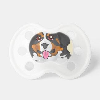 Bermese Mountain Dog Baby Pacifiers