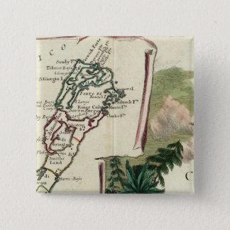 Bermuda 15 Cm Square Badge
