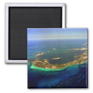 Bermuda Aerial Photograph Magnet