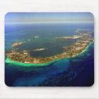 Bermuda Aerial Photograph Mouse Mat