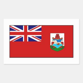 Bermuda Bermudian Flag Rectangular Sticker