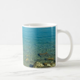 Bermuda Blue Green Waters Basic White Mug