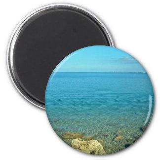 Bermuda Blue Green Waters Magnet
