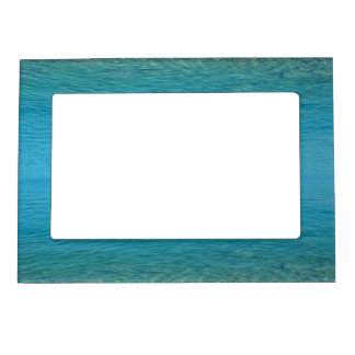 Bermuda Blue Green Waters Magnetic Picture Frame