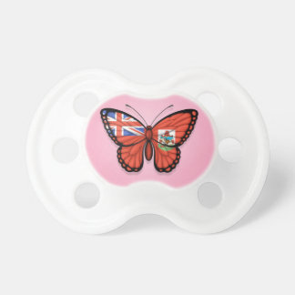 Bermuda Butterfly Flag on Pink Dummy
