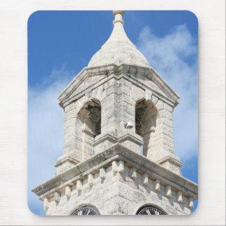 Bermuda Clocktower mousepad