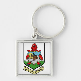 Bermuda Coat of arms BM Key Ring