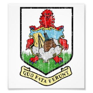 Bermuda Coat Of Arms Photographic Print