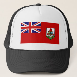 Bermuda Flag BM Trucker Hat