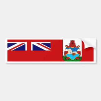 Bermuda Flag Bumper Sticker