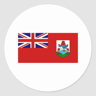 Bermuda FLAG International Classic Round Sticker