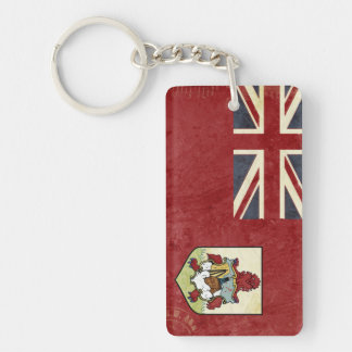 Bermuda Flag Key Chain Souvenir