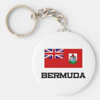 Bermuda Flag Key Ring