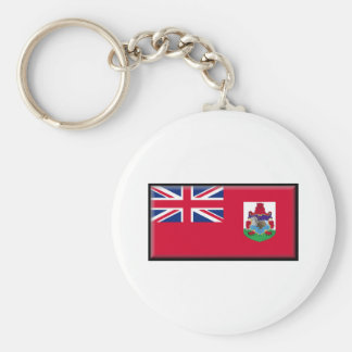 Bermuda Flag Key Ring