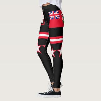 Bermuda Flag Leggings
