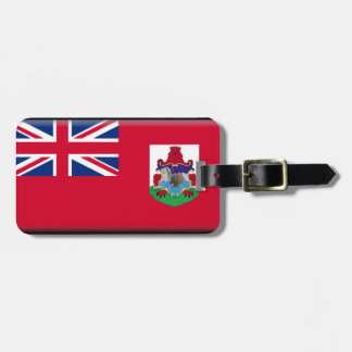 Bermuda Flag Luggage Tag