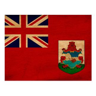 Bermuda Flag Postcard