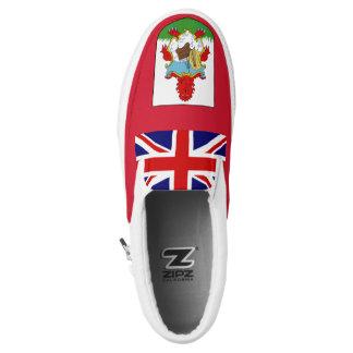 Bermuda Flag Slip-On Shoes