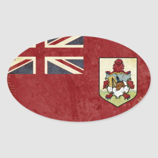 Bermuda Flag Stickers