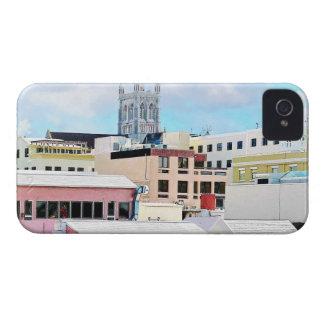 Bermuda - Hamilton Skyline iPhone 4 Covers