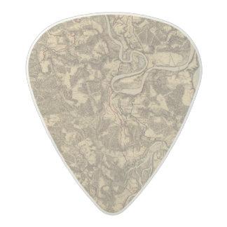 Bermuda Hundred, Virginia Acetal Guitar Pick