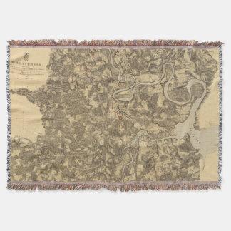 Bermuda Hundred, Virginia Throw Blanket