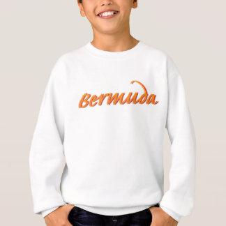 Bermuda in Orange Sweatshirt