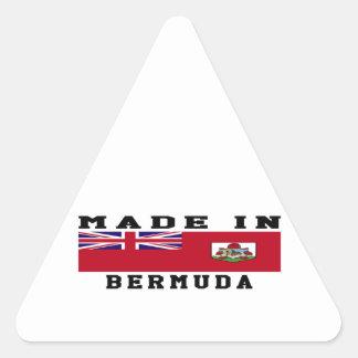 Bermuda Made In Designs Triangle Sticker