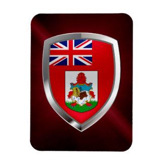 Bermuda Mettalic Emblem Magnet