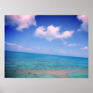 Bermuda Ocean Poster