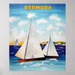 Bermuda Retro Poster Posters
