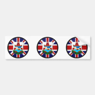 Bermuda Roundel quality Flag Bumper Sticker