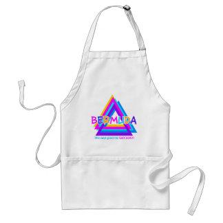 BERMUDA TRIANGLE apron - choose style