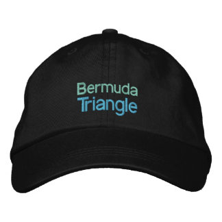 BERMUDA TRIANGLE cap Embroidered Hat