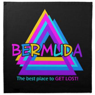 Bermuda Triangle custom cloth napkins