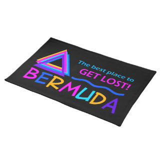 Bermuda Triangle custom placemat