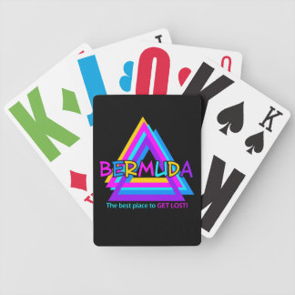 Bermuda Triangle custom playing cards