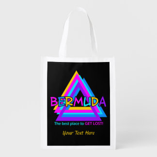 Bermuda Triangle custom reusable bag