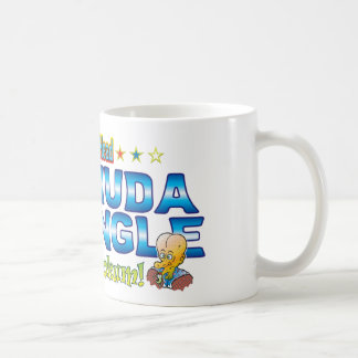 Bermuda Triangle Dr. B Head Basic White Mug