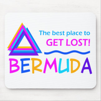 BERMUDA TRIANGLE mousepad
