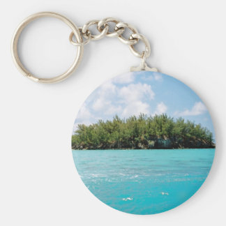 Bermuda Triangle Northern Tip Key Ring